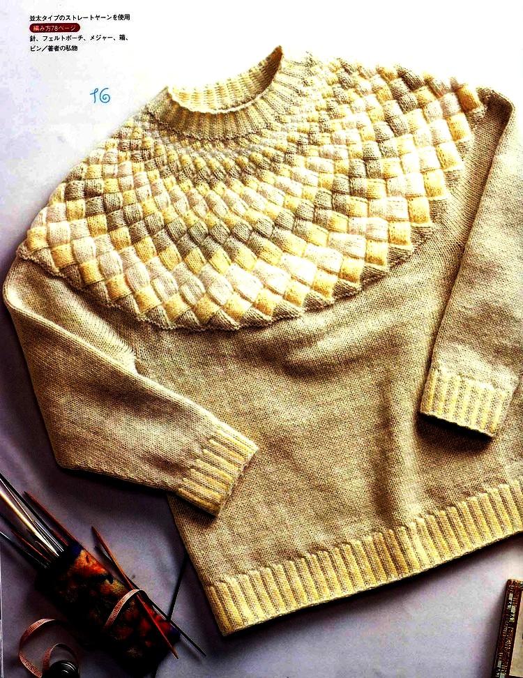 Два пуловера  (вязание спицами)