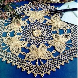 Салфеточки из журнала Decorative Crochet Magazines 13(1).