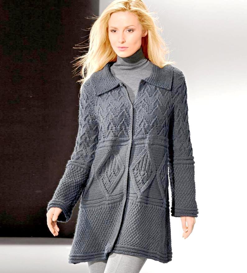 Пальто из Junghans-Wolle