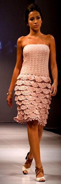 Эффектное летнее платье.