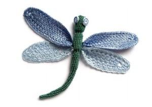Вяжем бабочек, стрекоз