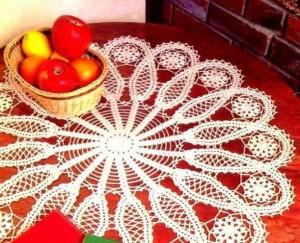Коллекция салфеток из журнала Crochet tablecloth