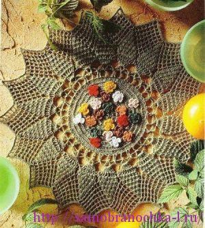 Коллекция салфеток из  журнала Magic crochet № 120