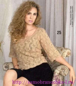 Коллекция ажурных блузок