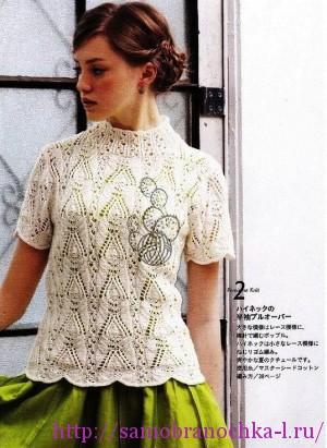 Ажурные блузки в коллекцию