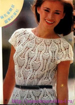 Ананасовые блузочки на лето