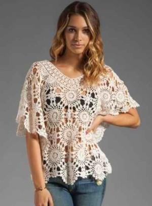 Платья и блузка из мотивов