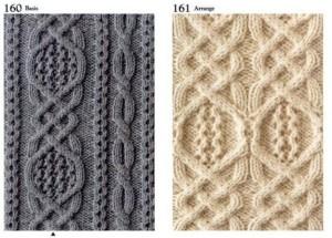Коллекция узоров спицами, 3 часть
