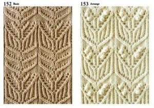 Коллекция ажурных узоров спицами