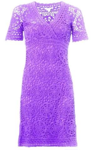 Коллекция красивых платьев крючком