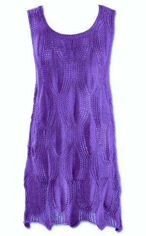 Вязание спицами: нежные ажурные платья