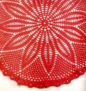 Ажурные шали-накидки крючком
