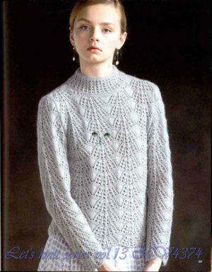 Красивые пуловеры спицами
